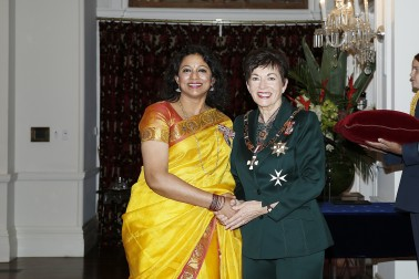Image of Dame Patsy Reddy and Prabha Ravi