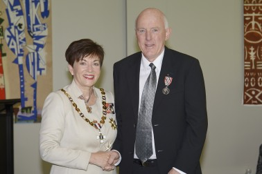 Image of Aland Turner and Dame Patsy Reddy