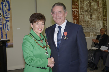 Image of Barry Atkinson and Dame Patsy Reddy