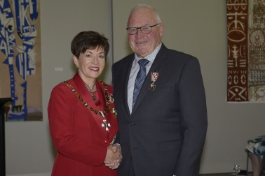 Image of Dame Patsy and Bruce Gordon