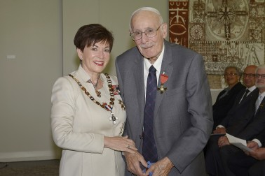Image of Colin Bidois and Dame Patsy Reddy