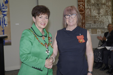 Image of Helen Pollock and Dame Patsy Reddy
