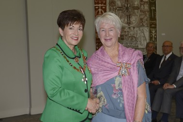 Image of Kathleen Greenwood and Dame Patsy Reddy