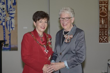Image of Dame Patsy and Lesley Gordon