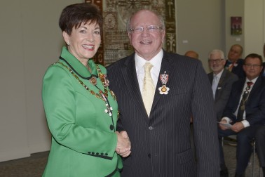 Image of LIndsay Tisch and Dame Patsy Reddy