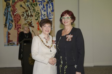 Image of Lynnette Flowers and Dame Patsy Reddy