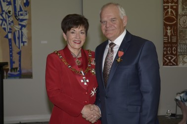 Image of Dame Patsy and Mark Hadlow