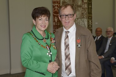 Image of Murray Chandler and Dame Patsy Reddy