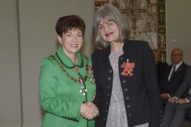 Image of Nicola Legat and Dame Patsy Reddy