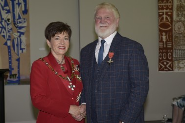 Image of Dame Patsy and Prof Roger Moltzen