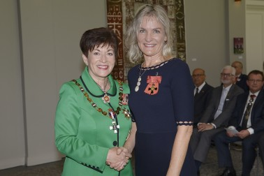 Image of Rachel Brown and Dame Patsy Reddy;