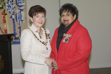 Image of Raewyn Bhana and Dame Patsy Reddy
