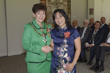Image of Dr Renee Liang and Dame Patsy Reddy