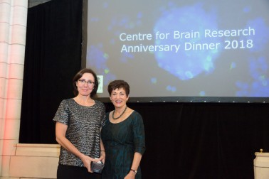 an image of Dame Patsy with Associate Professor Cathy Stinear
