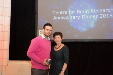 an image of Dame Patsy with Dr David Moreau
