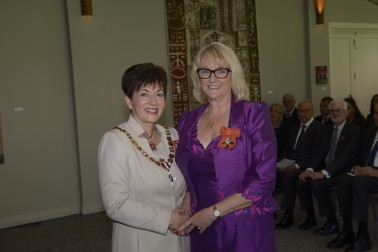 Mrs an image of Sonia Chambers, of Auckland, MNZM for services to people with disabilities