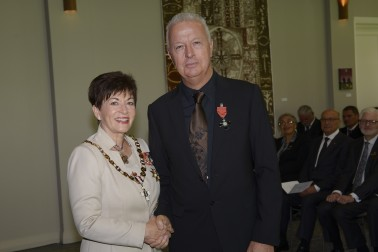 an image of Mr Gary Langsford, of Auckland, MNZM for services to art
