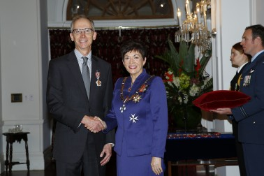 Mr David Smol, of Wellington, QSO for services to the State