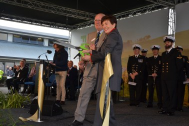 an image of Dame Patsy officially opening Fieldays 2018