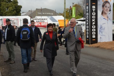 an image of Dame Patsy and Peter Carr at Fieldays