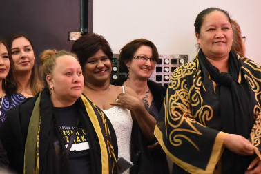 an image of Ngati Whatua representatives