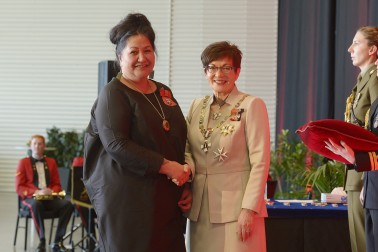 Image of Donna Matahaere-Atariki, of Dunedin, MNZM, for services to Māori and health