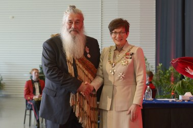 Image of Stewart Bull, of Invercargill, QSM, for services to conservation and Māori