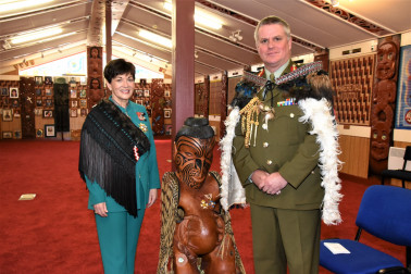 an image of Dame Patsy and Major General John Boswell, DSD, Chief of Army