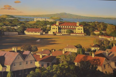 Auckland Grammar's mission-style building
