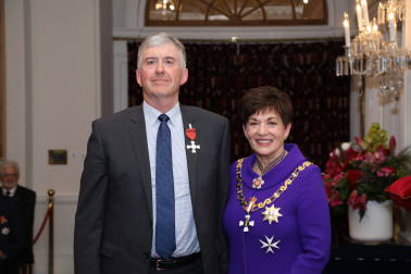 Image of Dr Kevin Knight, of Christchurch, MNZM, for services to education