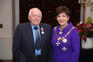 Image of Roy Reid, of Takaka, QSM, for services to seniors