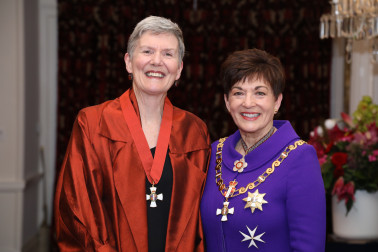 Image of Helen Plume, of Porirua, CNZM, for services to the environment