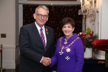 Image of Tony Bonne, of Ohope, ONZM, for services to local government and the community