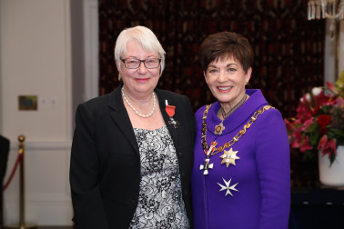 Image of Liz Hird, of Otaki, MNZM, for services to health