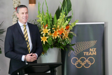 Image of NZ Olympic team Chef de Mission Rob Waddell