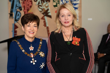 Image of Mrs Chloe Wright, of Tauranga, ONZM, for services to philanthropy, education and health