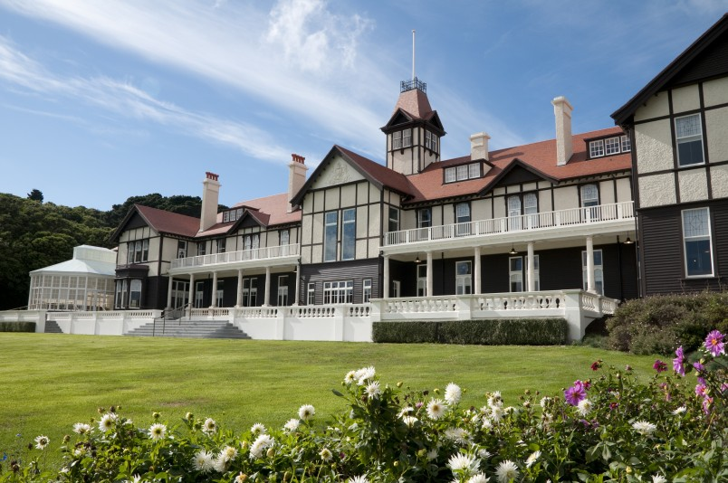 Image of Government House from the North Lawn
