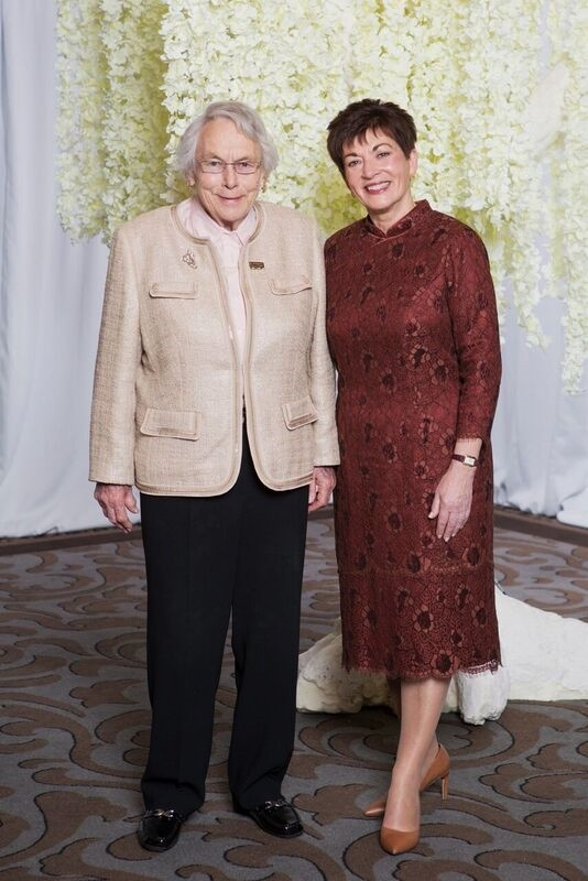 An image of Dame Patsy and Pam Williams