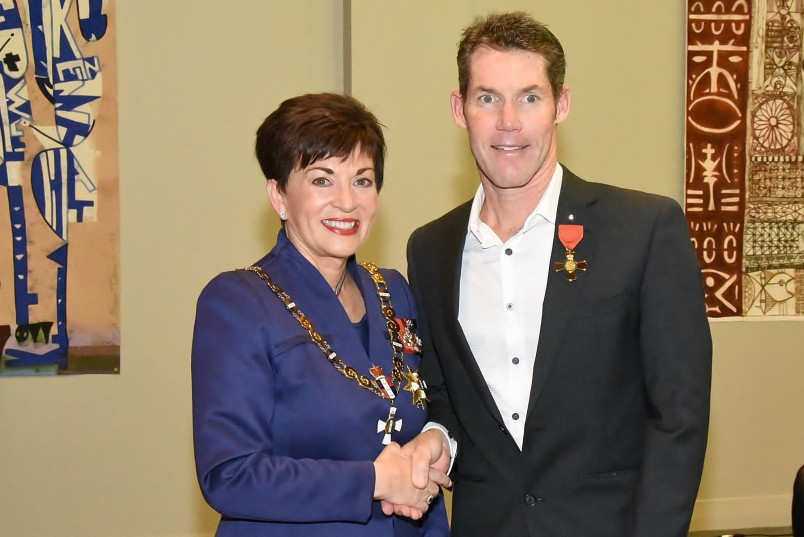 Image of Mr Cameron Brown, of Auckland, ONZM, for services to triathlon