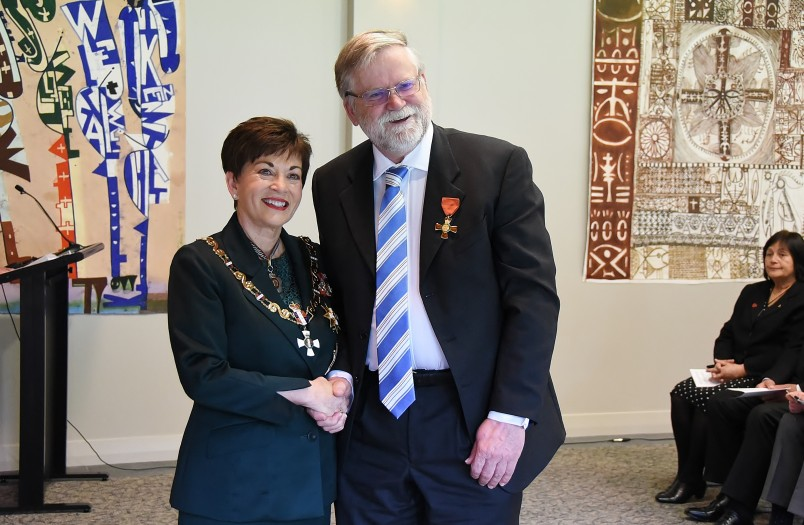 Image of Dr David Chamley, of Auckland,ONZM,for services to anaesthesia