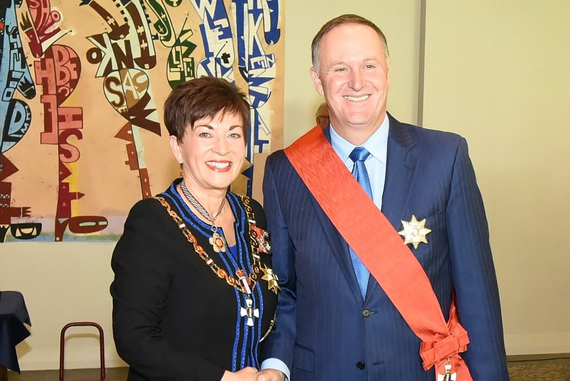 Image of The Right Honourable Sir John Key, GNZM, of Auckland, for services to the State