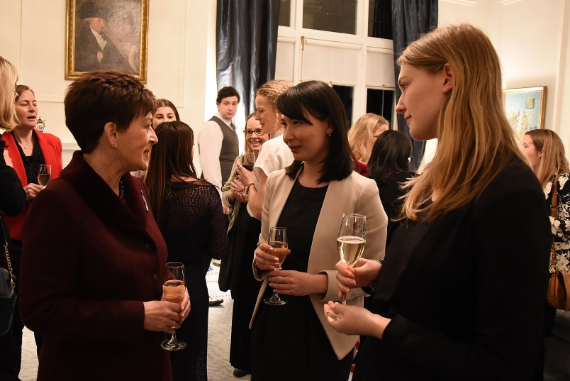 Image of guests at the Women in Law forum