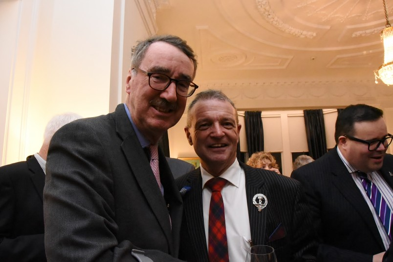 An image of The Rt Hon Paul East and Mr Ross Robertson