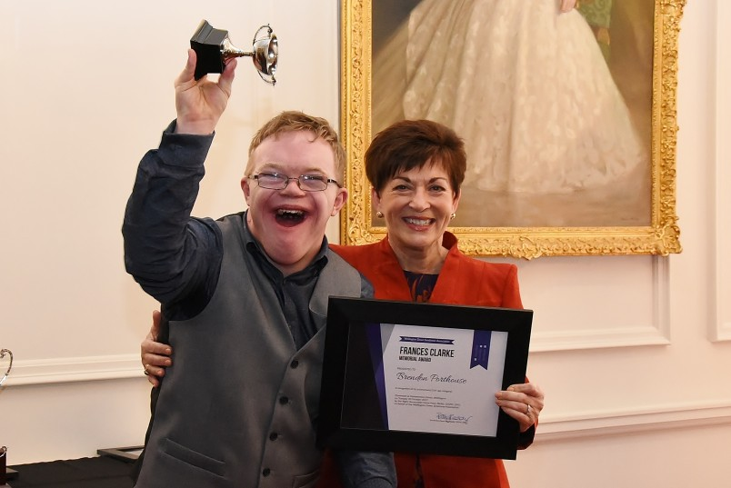 Image of Dame Patsy and Frances Clarke Award recipient Brendon Porthouse