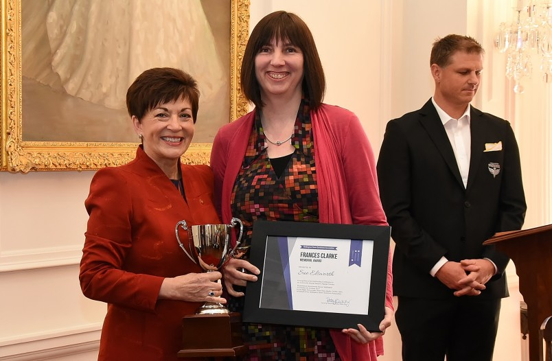 Image of Dame Patsy and Frances Clarke Award Outstanding Contribution recipient, Sue Elsworth