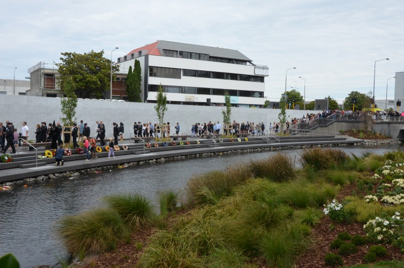 an image of The Canterbury Earthquake Memorial in Christchurch