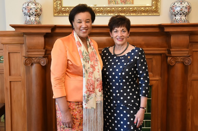 Image of Dame Patsy and Commonwealth Secretary-General, Baroness Scotland