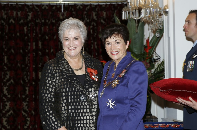 Image of Dame Patsy and Dame Annette King