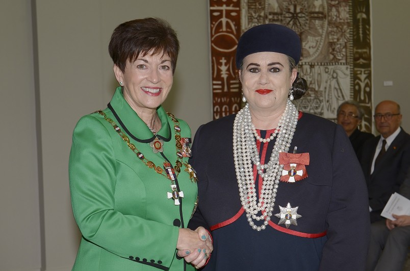 Image of Dame Denise L'Estrange-Corbet and Dame Patsy Reddy