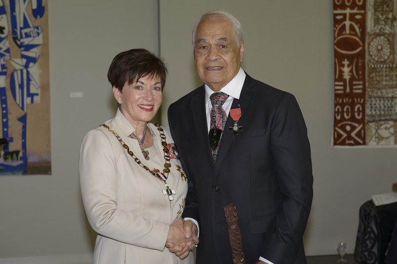 Image of Dr Haare Williams and Dame Patsy Reddy